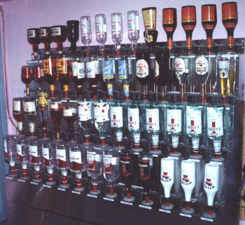 Beautiful Liquor Storage Rack U2013 ProBar Systems Inc