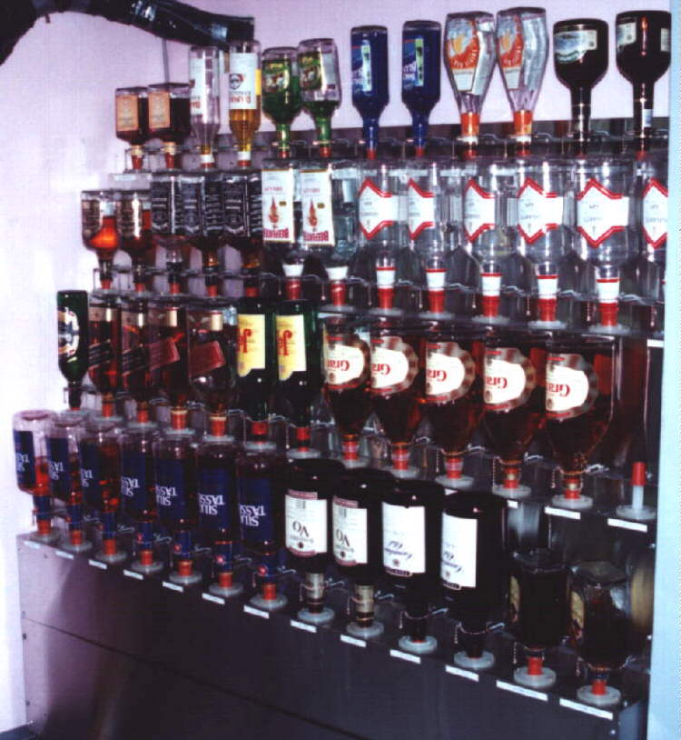 Nice Liquor Storage Rack U2013 ProBar Systems Inc