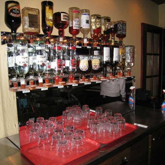 Liquor Storage Rack - ProBar Systems Inc